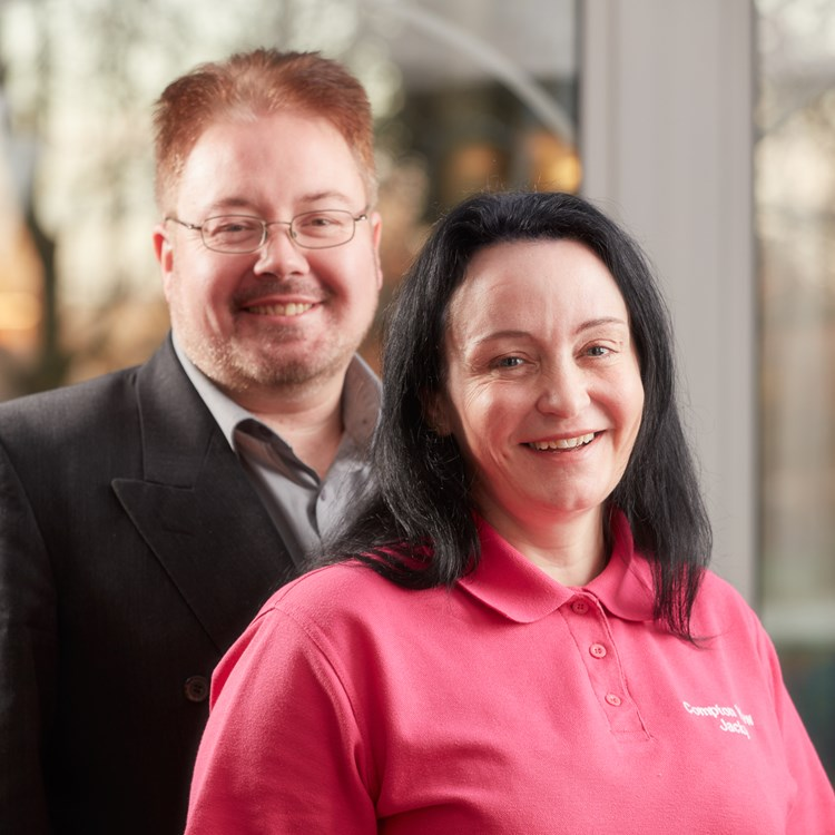 Owners Jacky and Paul