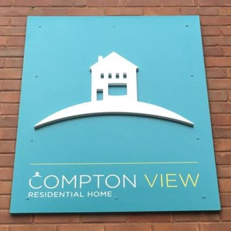 Compton View Residential Home Logo